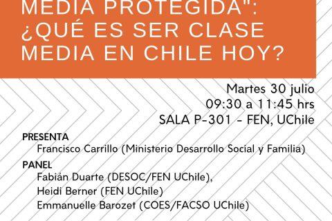 [SEMINARIO] Programa Clase Media Protegida: ¿Qué es ser clase media en Chile hoy?