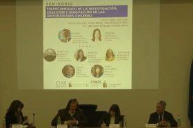 """[VIDEO] Seminario """"Financiamiento de la investigación, creación e innovación en las universidades chilenas. Una mirada necesaria."""