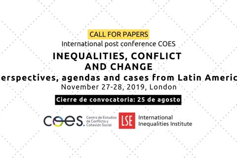 [POST-CONFERENCIA] Inequalities, conflict and change: perspectives, agendas and cases from Latin America